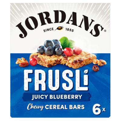 Jordans Frusli Blueberry Burst Cereal Bars
