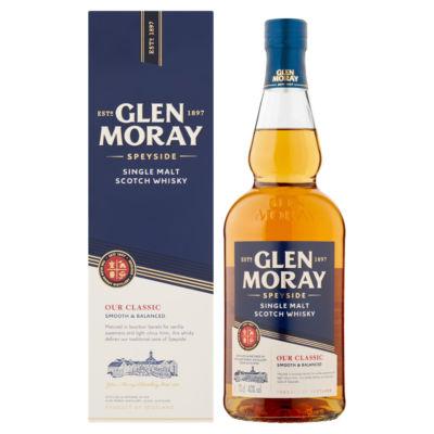 Glen Moray Single Malt Scotch Whisky