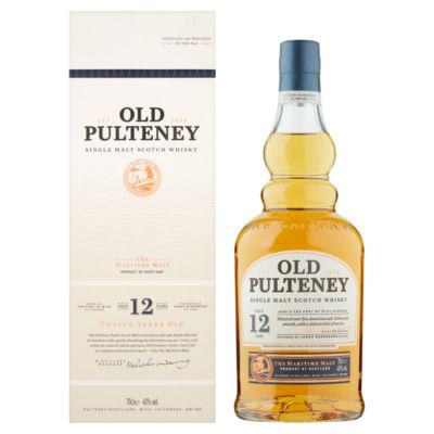 Old Pulteney Single Malt Scotch Whisky 12 Years Old