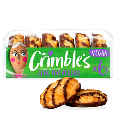 Mrs Crimble 6 Vegan Chocolate Macaroons