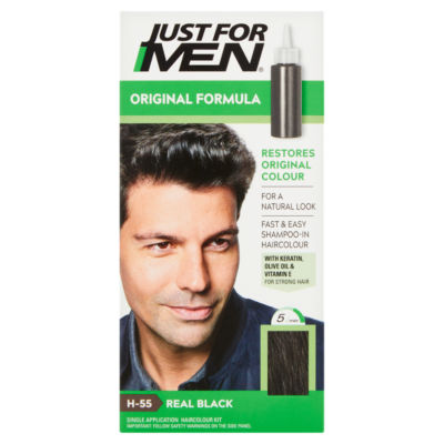 Just For Men Original Formula Haircolour Real Black H-55