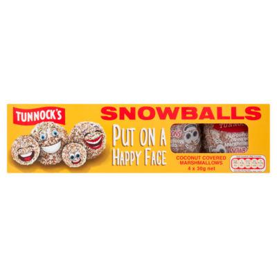 Tunnock's Snowballs 4 Pack