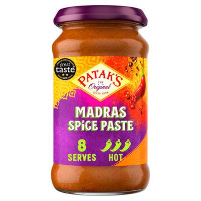 Patak's Madras Curry Spice Paste