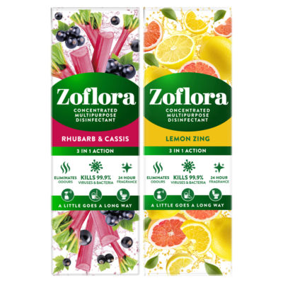 Zoflora 3 in 1 Action Disinfectant (Variety may vary)