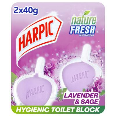 Harpic Active Fresh 6 Rim Block Toilet Cleaner, Lavender Scent