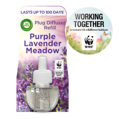 Air Wick Electrical Plug In Refill, Purple Lavender Meadow - 1 Refill