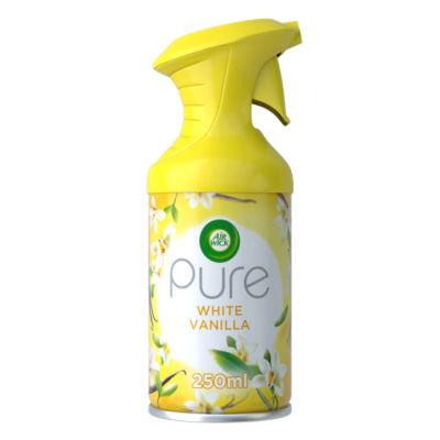 Air Wick Aerosol Spray Air Freshener, White Vanilla Bean