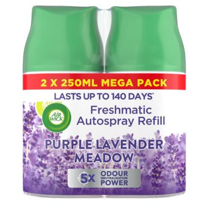 Air Wick Freshmatic Autospray Refill, Purple Lavender Meadow - 2 Refills