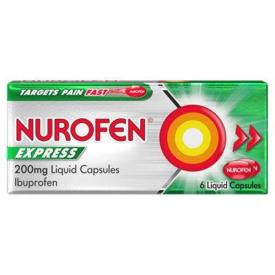 Nurofen Express Ibuprofen Liquid Capsules