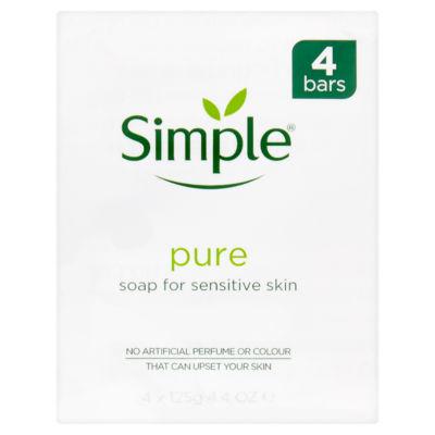 Simple Pure for Sensitive Skin Soap Bars