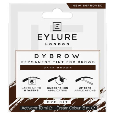 Eylure Pro - Brow Dybrow Dye Kit Dark Brown