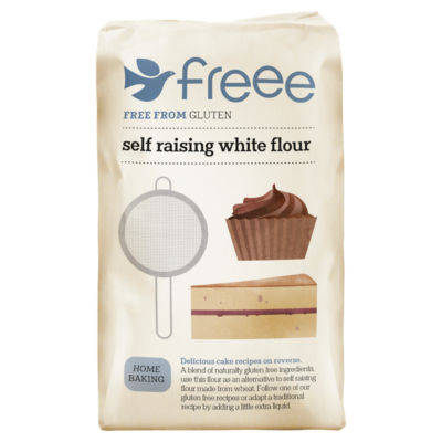 FREEE by Doves Farm Self Raising White Flour Free From Gluten