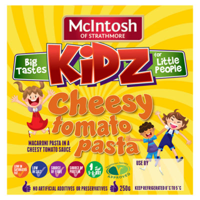 McIntosh of Strathmore Kidz Cheesy Tomato Pasta