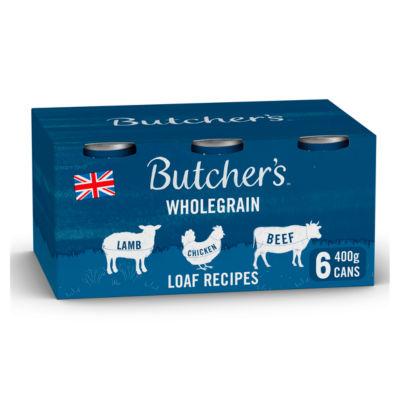 Butcher's Loaf Recipes Adult Dog Food Tins