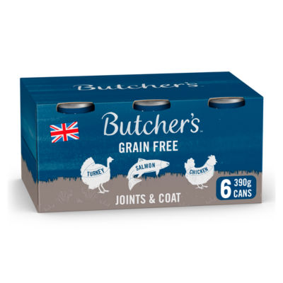 Butcher's Joints & Coat Dog Food Tins