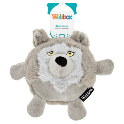 Webbox Soft & Comfort Dog Toy (Colour & variety may vary)