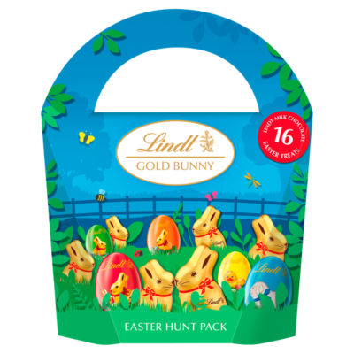 Lindt Gold Bunny & Friends Chocolate Egg Hunt Pack