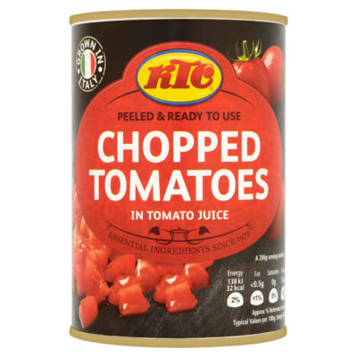 KTC Chopped Tomatoes in Tomato Juice