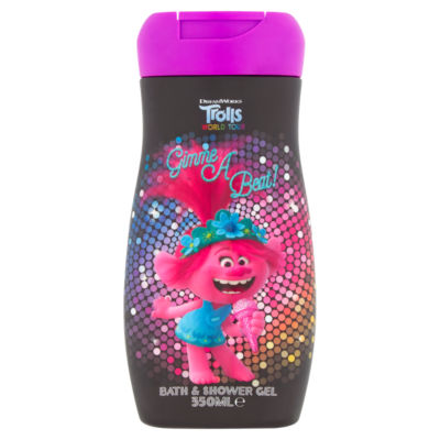 Trolls Kids Bath & Shower Gel Raspberry Fragrance
