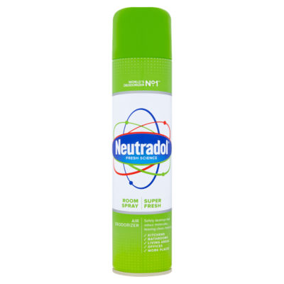 Neutradol Air Deodorizer Room Spray Super Fresh