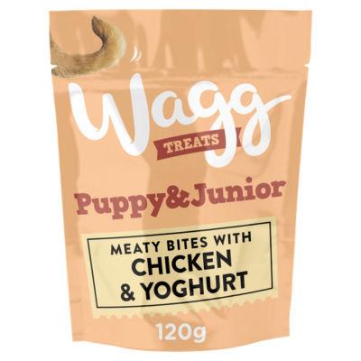 Wagg Puppy & Junior Treats with Chicken & Yoghurt