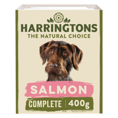 Harringtons Grain Free Salmon & Potato with Vegetables Adult Dog Food Tray