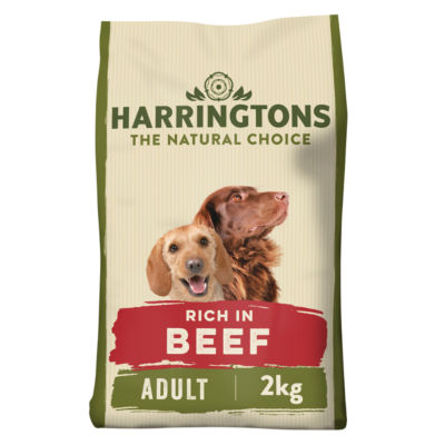 Harringtons Rich in Beef with Rice Complete Dry Adult Dog Food