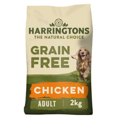 Harringtons Grain Free Hypoallergenic Chicken & Veg Dry Adult Dog Food