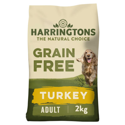 Harringtons Grain Free Hypoallergenic Turkey & Veg Dry Adult Dog Food