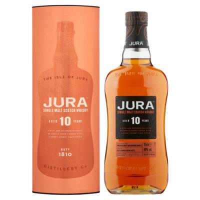 Jura 10 Year Old Aged Single Malt Scotch Whisky