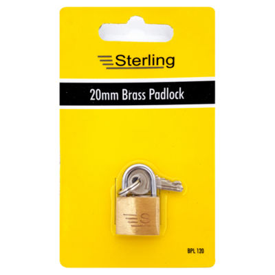 Sterling Brass Padlock