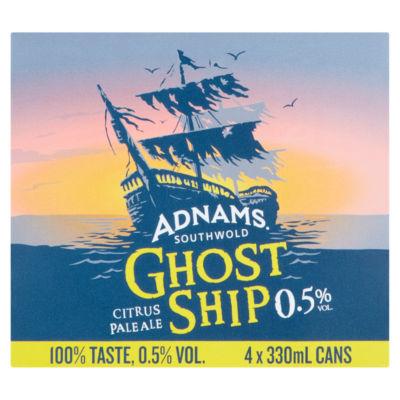 Adnams Ghost Ship Citrus Pale Ale Alcohol Free