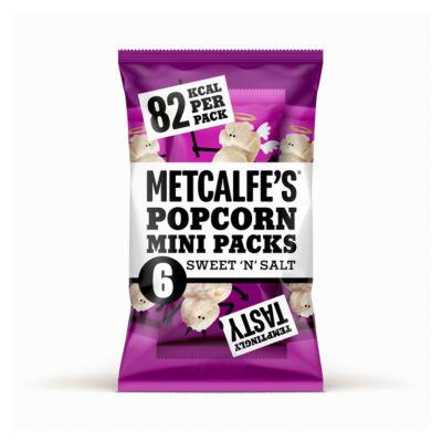 Metcalfe's Skinny Popcorn Sweet 'n Salt 6 Pack