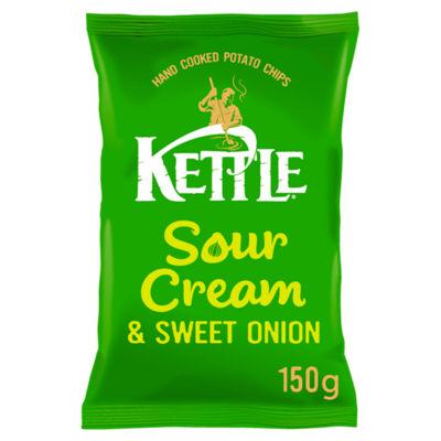 Kettle Chips Sour Cream & Sweet Onion Sharing Crisps