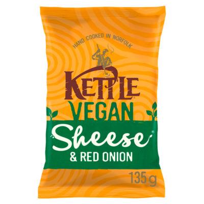 Kettle Chips Vegan Sheese® & Red Onion Sharing Crisps