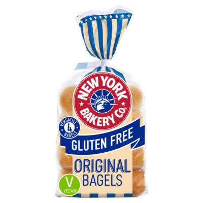 New York Bakery Co 4 Gluten Free Original Bagels