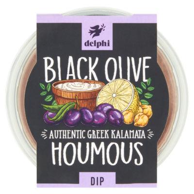 Delphi Black Olive Houmous with Olive Oil