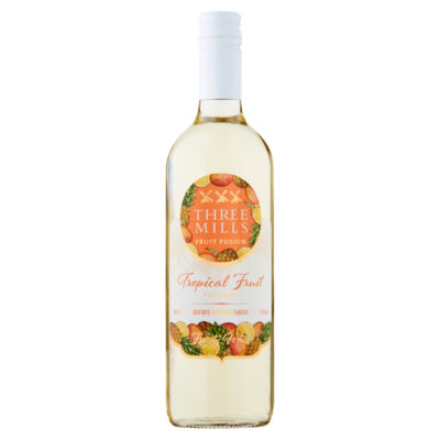 Three Mills Fruit Fusion Tropical Fruit Flavour Wine