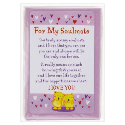 For My Soulmate Keepsake