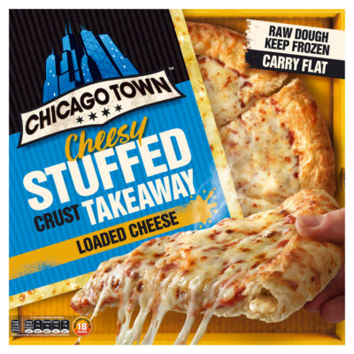 Chicago Town Takeaway Cheesy Stuffed Crust Cheese Pizza