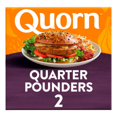 Quorn Quarter Pounder 2 Pack