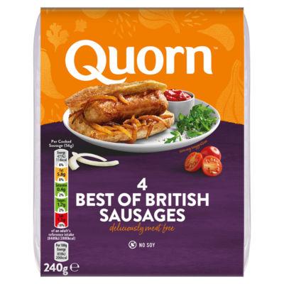 Quorn Vegetarian Best of British Sausages
