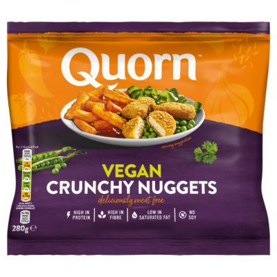 Quorn Meat Free Vegan Nuggets