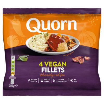 Quorn 4 Meat Free Vegan Fillets