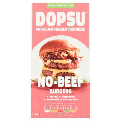 Dopsu No Beef Burgers