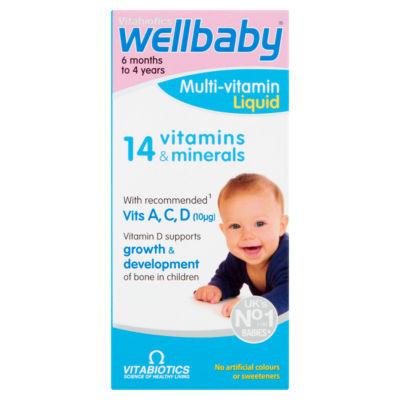 Vitabiotics WellKid Baby & Infant 6 Months to 4 Years