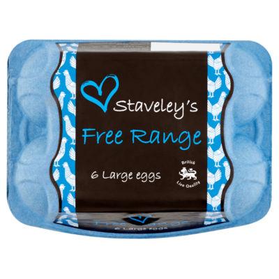 Staveley Large Free Range Eggs