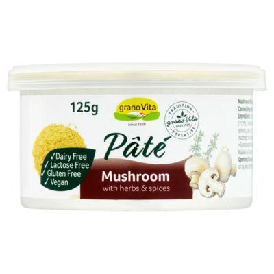 GranoVita Mushroom Pâté with Herbs & Spices