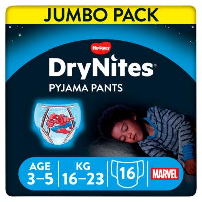 Huggies DryNites Pyjama Pants Jumbo Boy 3-5 Years (16-23kg)