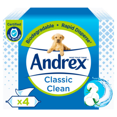 Andrex Washlets Classic Clean Multi Pack